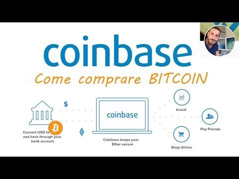 COINBASE - Come comprare Bitcoin