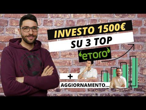 Investire copiando i migliori su eToro