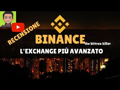 BINANCE EXCHANGE - GUIDA COMPLETA ITALIANO || Registrarsi + Commissioni + Buy and Sell + Fork