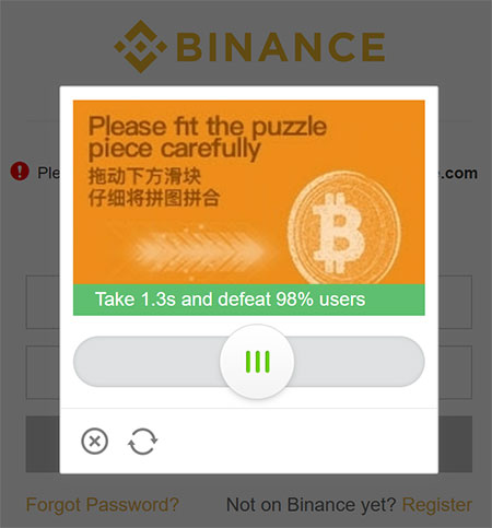 binance login