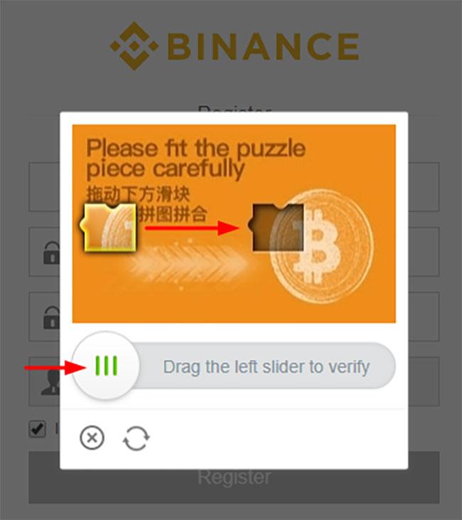 come risolvere il puzzle di binance