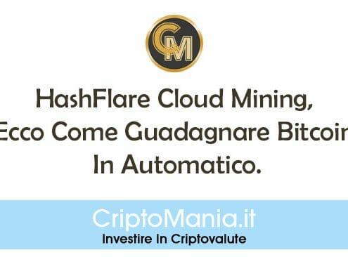 HashFlare Cloud Mining, Come Guadagnare Bitcoin In Automatico.