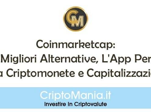 Coinmarketcap: Le 8 Migliori Alternative, L'App Per iOS, Lista Criptomonete e Capitalizzazione.