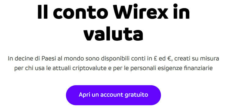 come funziona wirex card