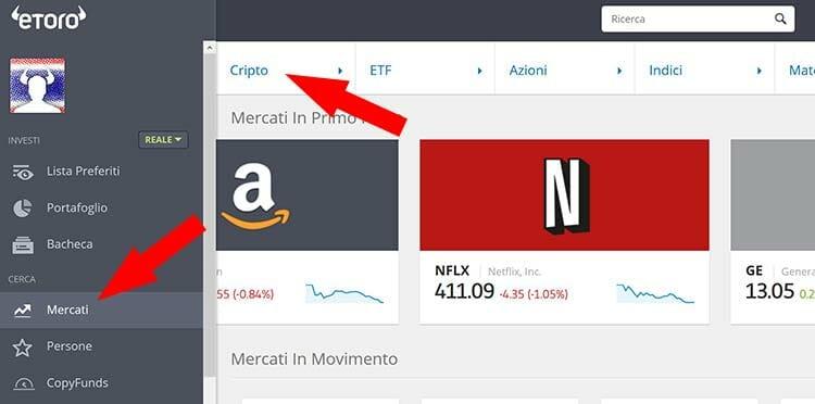 come vendere bitcoin su etoro