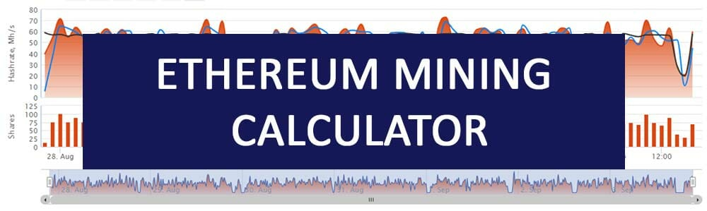ethereum mining calculator pool
