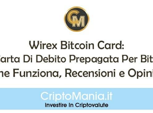 Wirex Bitcoin Card: La Carta Di Debito Prepagata Per Bitcoin. Come Funziona, Recensioni e Opinioni.