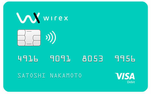 wirex bitcoin card