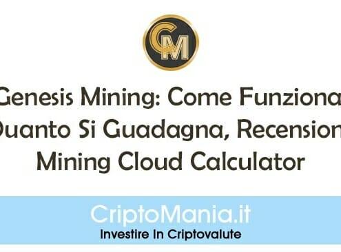 Genesis Mining: Come Funziona, Quanto Si Guadagna, Recensioni, Mining Cloud Calculator.