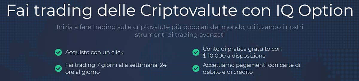 Fare Trading Di Criptovalute Con IQ Option