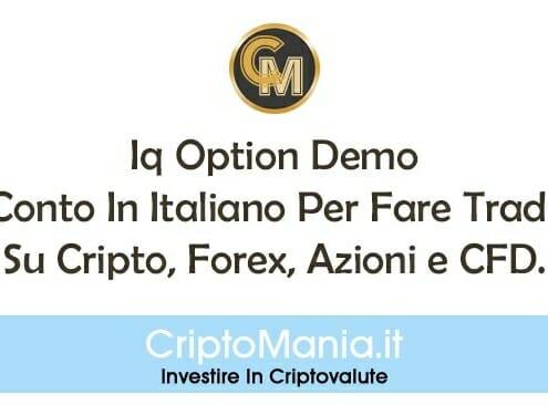 Iq Option Demo: Il Conto In Italiano Gratis Per Cripto, Forex, Azioni e CFD.