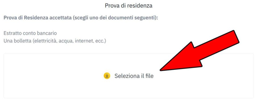 prova residenza documenti