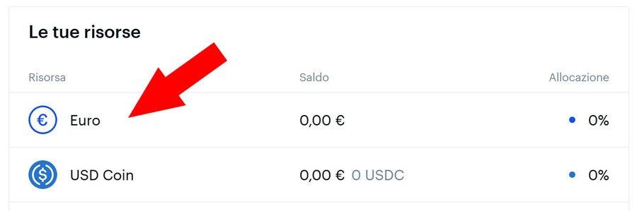 risorse comprare bitcoin da euro