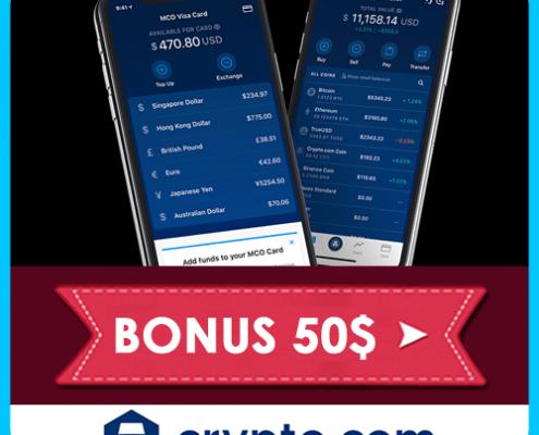 Crypto.com: Recensioni e Opinioni, Come Funziona l'Exchange, Ottenere Il Bonus 50$ e La MCO Carta In Italia.
