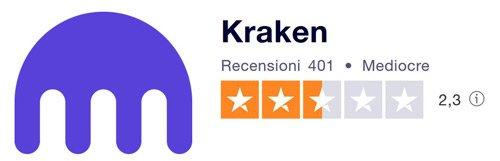 recensioni opinioni kraken