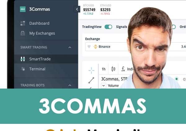 3Commas: Come Guadagnare Crypto In Automatico, Recensione e Opinioni [Guida Italiano + Sconto 10%]
