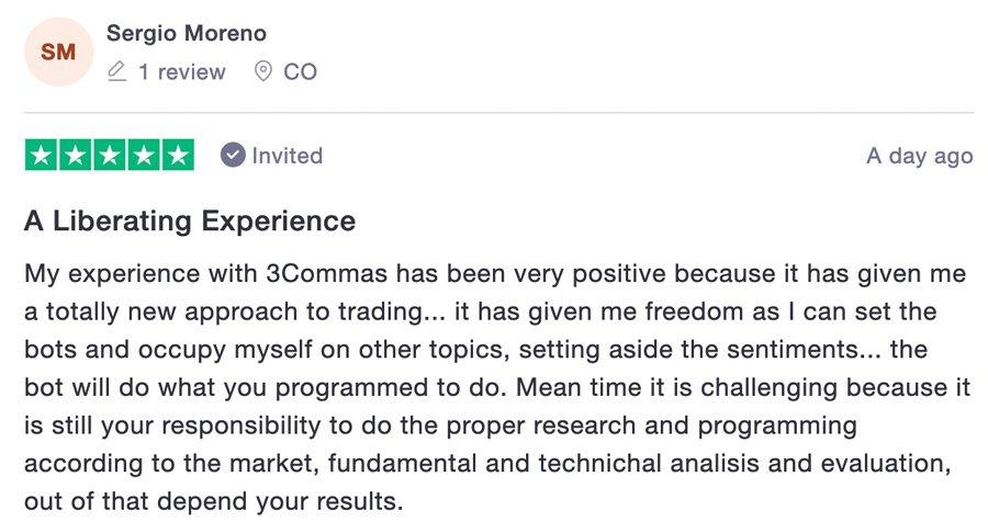 recensione 3commas trading bot bitcoin